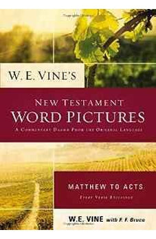 W. E. Vine's New Testament Word Pictures: Matthew to Acts 9780718036898