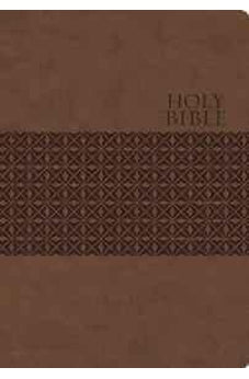 KJV, End-of-Verse Reference Bible, Giant Print, Personal Size, Imitation Leather, Brown (Classic) 9780718037130