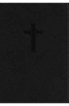 NKJV, Reference Bible, Compact, Large Print, Leathersoft, Black, Red Letter Edition (Classic) 9780718040581