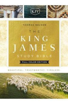 KJV, The King James Study Bible, Cloth over Board, Full-Color Edition 9780718079154
