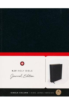 KJV, Holy Bible, Journal Edition, Hardcover, Red Letter Edition 9780718080358