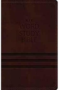 KJV, Word Study Bible, Leathersoft, Brown, Indexed, Red Letter Edition: 1,700 Key Words that Unlock the Meaning of the Bible 9780718085605