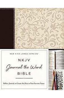 NKJV, Journal the Word Bible, Imitation Leather, Brown/Cream, Red Letter Edition: Reflect, Journal, or Create Art Next to Your Favorite Verses 9780718089849
