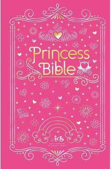 ICB Princess Bible with Coloring Sticker Book 9780718090999