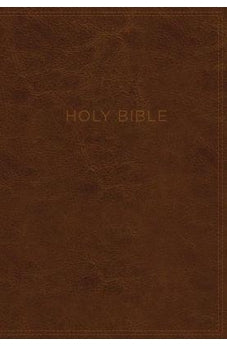 KJV, Know The Word Study Bible, Leathersoft, Brown, Red Letter Edition: Gain a greater understanding of the Bible book by book, verse by verse, or topic by topic 9780718091620