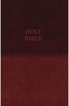 KJV, Value Thinline Bible, Standard Print, Leathersoft, Brown, Red Letter Edition, Comfort Print 9780718098193