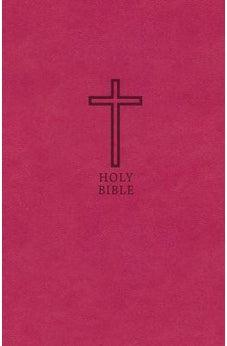KJV, Value Thinline Bible, Standard Print, Leathersoft, Pink, Red Letter Edition, Comfort Print 9780718098216