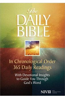 NIV Daily Bible In Chronological Order: 365 Daily Readings