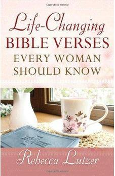 Life-Changing Bible Verses Every Woman Should Know 9780736952934