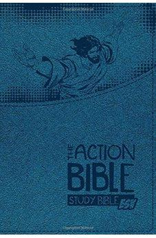 The Action Bible - Study Bible ESV - Blue