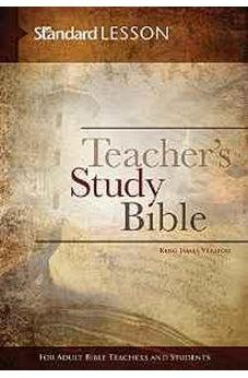 Standard Lesson Teacher's Study Bible-King James Version (Hardcover Edition) 9780784774786