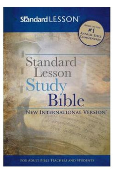 Standard Lesson Study Bible New International Version-Hardcover 9780784776865