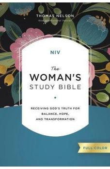 NIV, The Woman's Study Bible, Hardcover, Full-Color  9780785212379