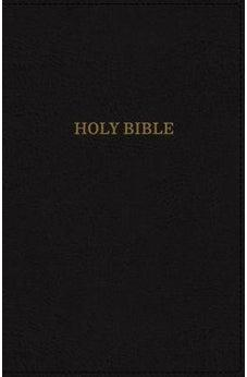 KJV, Deluxe Reference Bible, Super Giant Print, Leathersoft, Black, Indexed, Red Letter Edition, Comfort Print 9780785215677