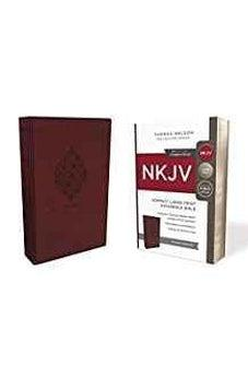 NKJV, Reference Bible, Compact Large Print, Leathersoft, Burgundy, Red Letter Edition, Comfort Print 9780785217510