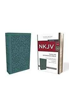NKJV, Thinline Reference Bible, Leathersoft, Turquoise, Red Letter Edition, Comfort Print 9780785217848