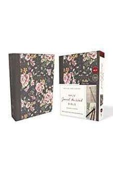 NKJV, Journal the Word Bible, Cloth over Board, Gray Floral, Red Letter Edition, Comfort Print: Reflect, Journal, or Create Art Next to Your Favorite Verses 9780785218425