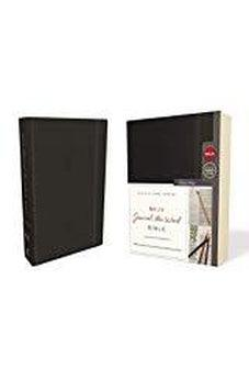 NKJV, Journal the Word Bible, Hardcover, Black, Red Letter Edition, Comfort Print 9780785218500