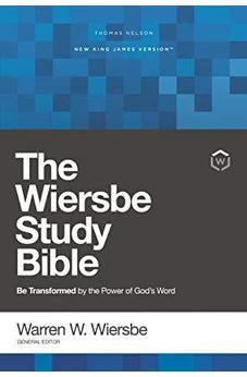 Image of NKJV, Wiersbe Study Bible, Hardcover, Red Letter Edition, Comfort Print 9780785220978