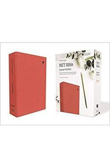 NET Bible, Journal Edition, Cloth over Board, Coral, Comfort Print 9780785224808