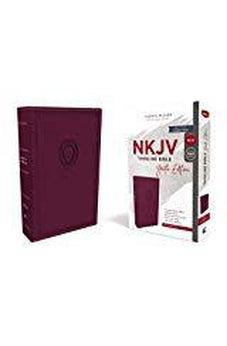 NKJV, Thinline Bible Youth Edition, Leathersoft, Purple, Red Letter Edition, Comfort Print