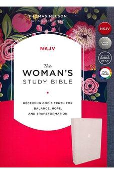 Image of NKJV, Woman's Study Bible, Full-Color 9780785226123