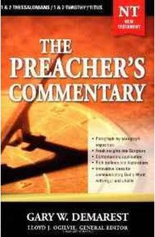 1,2 Thessalonians, 1,2 Timothy, and Titus: The Preacher's Commentary, Vol. 32 9780785248071