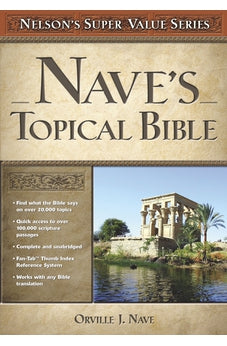 Nave's Topical Bible 9780785250586