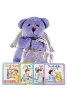 Prayer Bear Plush Toy and 4 Children's Prayer Books 9780785374015