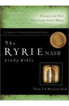 NAS Ryrie Study Bible, Genuine Leather, Black 9780802484598