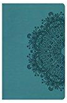 HCSB Ultrathin Reference Bible, Teal LeatherTouch, Indexed 9780805489620