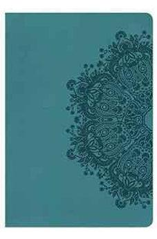 NKJV Giant Print Reference Bible, Teal LeatherTouch 9780805489903