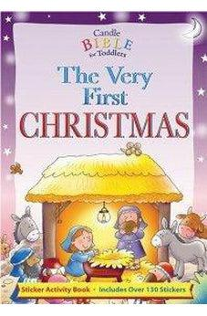 Very First Christmas, The: Sticker Activity Book 9780825473531