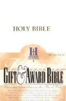 KJV Gift & Award Bible (White) 9780879814649