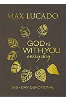 God Is With You Every Day (Large Text Leathersoft) 9781400209965