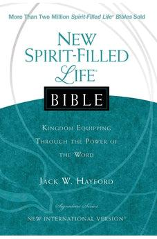 NIV, New Spirit-Filled Life Bible, Hardcover: Kingdom Equipping Through the Power of the Word (Signature) 9781401678210