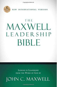 NIV, The Maxwell Leadership Bible, Hardcover