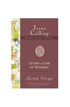 Living a Life of Worship (Jesus Calling Bible Studies) HB Spiral Bound 9781404105386