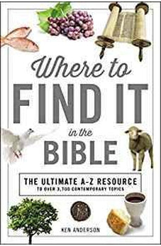 Where to Find It in the Bible (A to Z Series) 9781404108844