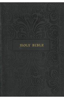 KJV Thinline Bible Large Print Black Leathersoft 9781404108967