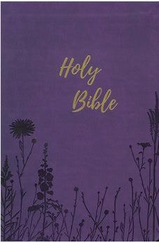 KJV Holy Bible, Giant Print, Purple Leathersoft