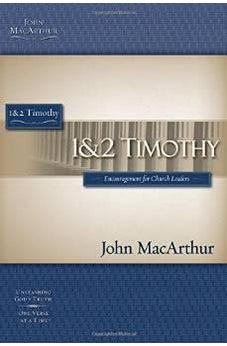 1 & 2 Timothy (MacArthur Bible Studies) 9781418508876