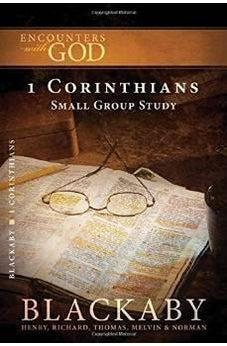 1 Corinthians: A Blackaby Bible Study Series (Encounters with God) 9781418526443