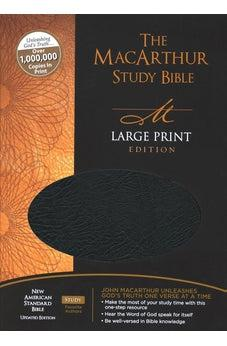 NASB MacArthur Study Bible Large Print Indexed