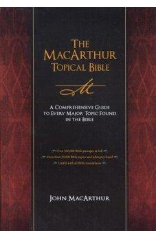 Image of NKJV MACARTHUR TOPICAL BIBLE 9781418543761