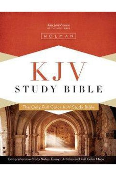 KJV Study Bible - Saddle Brown Simulated Leather - Indexed 9781433600357
