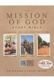 The Mission of God Study Bible, Simulated Leather (Brown/Cream/Taupe) 9781433601583
