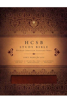 HCSB Study Bible (Mahogany Simulated Leather) 9781433602382