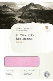 HCSB UltraThin Bible - Pink/Brown Leather Touch 9781433602979