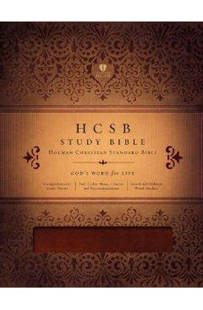 HCSB Study Bible (Mahogany Duotone Simulated Leather - Indexed) 9781433603174